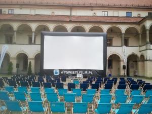 location de cinéma en plein air